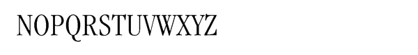 ITC Garamond® Condensed Light Font UPPERCASE