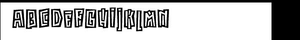 ITC Kokoa™ Font UPPERCASE