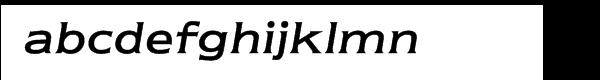 ITC Newtext® Regular Italic Font LOWERCASE