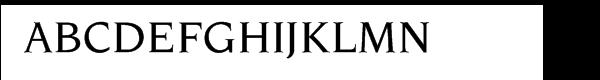 ITC Novarese Pro Medium  What Font is