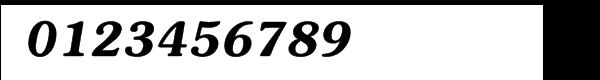 ITC Souvenir® Demi Italic Font OTHER CHARS