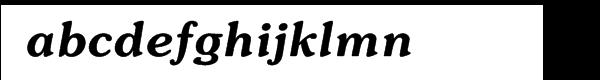 ITC Souvenir® Demi Italic Font LOWERCASE