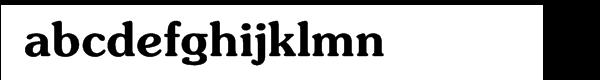 ITC Souvenir® Demi Font LOWERCASE