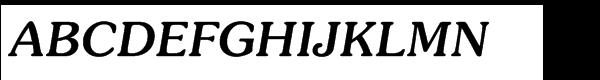 ITC Souvenir® Std Medium Italic  What Font is