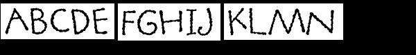 ITC Tapioca Std  What Font is