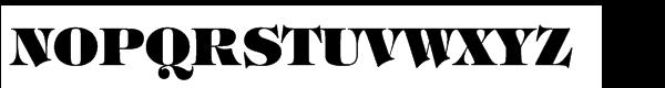 ITC Tiffany™ Std Heavy Font UPPERCASE
