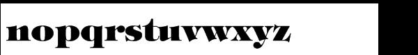 ITC Tiffany™ Std Heavy Font LOWERCASE
