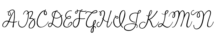 Janda Cheerful Script  What Font is