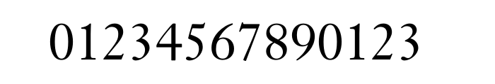 Janson Text Std 55 Roman Font OTHER CHARS