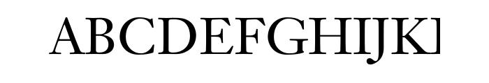 Janson Text Std 55 Roman Font UPPERCASE
