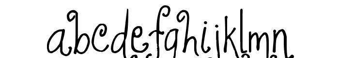 Jheri Curls Font LOWERCASE