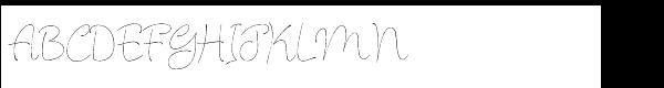 Julietrose™ Std Regular  What Font is