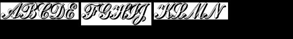 Julisa Script Shadow  What Font is