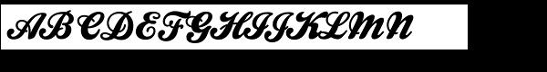 Kestrel Script  What Font is
