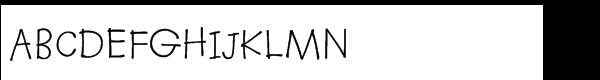 Kidprint® WGL Regular  What Font is