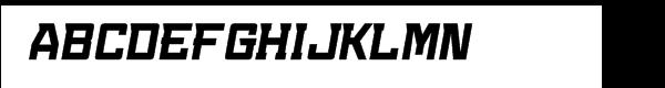 Konvexist Bold Oblique  What Font is