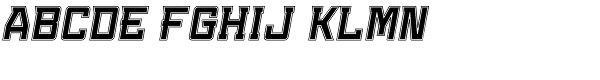 Konvexist-Collegiate Oblique  What Font is
