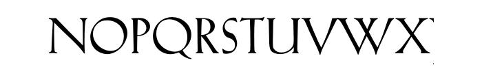 Kuenstler 165 Bold Multilingual OT Font UPPERCASE