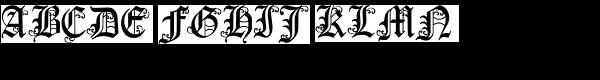 LDJ Yuletide  What Font is