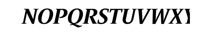 Le Monde Journal Std Bold Italic OT Font UPPERCASE