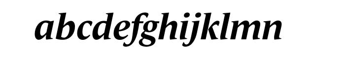 Le Monde Journal Std Bold Italic OT Font LOWERCASE