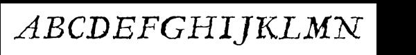 Linotype Compendio™ Com Italic  What Font is