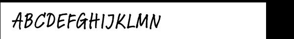 Linotype Feltpen™ Com Medium  What Font is
