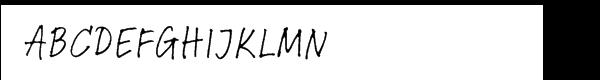Linotype Feltpen™ Com Regular  What Font is