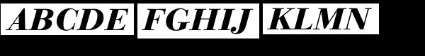 Linotype Gianotten Pro Heavy Italic  What Font is