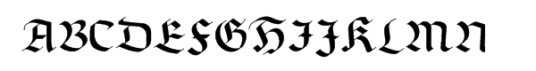 Linotype Richmond™ Fraktur Regular  What Font is