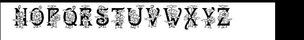Lotus Font UPPERCASE