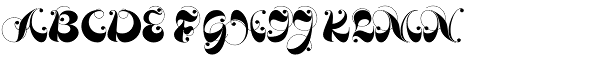 Loulou Font UPPERCASE