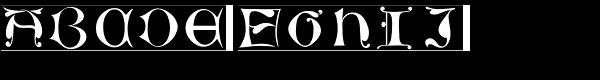 LTC Jacobean Initials D  What Font is
