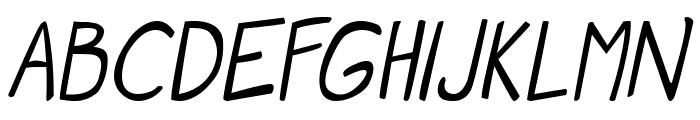 Manga speak 2 Italic  What Font is