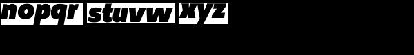 Manual Sans Italic-Black Font LOWERCASE