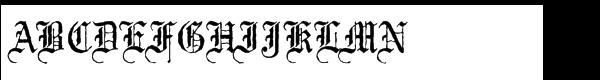 Mariage Std Antique (D)  What Font is