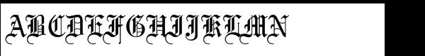 Mariage Std Regular  What Font is