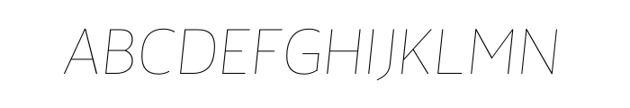Maya Samuels Thin Italic OT Free Fonts Download