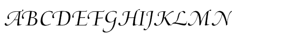 Medici® Script Std  What Font is