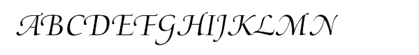 Medici Script™  What Font is