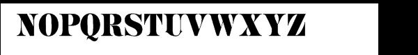 Mega Font UPPERCASE