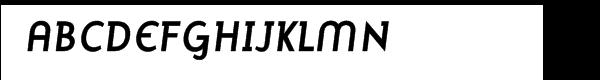 Mercury Alternative Bold Italic  What Font is