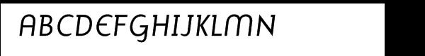 Mercury Alternative Italic  What Font is