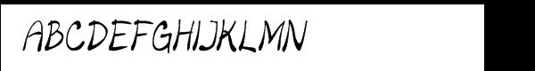 Merilee Condensed Italic Fuentes Gratis Descargar
