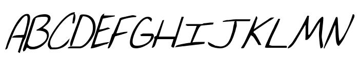 Merri Christina Bold Italic  What Font is