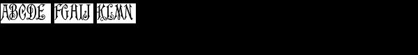 MFC Carson Monogram (10000 Impressions) Font LOWERCASE