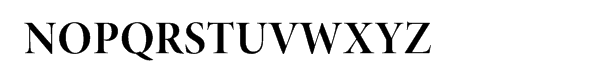 Minion® Pro Bold Display Font UPPERCASE