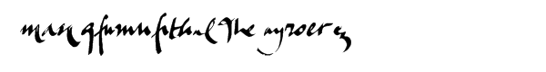 Mockingbird Alternate Bold  What Font is