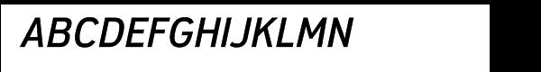 Modus Semibold Italic Alt  What Font is