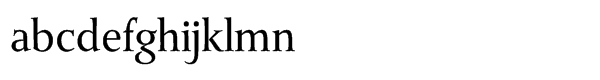 Monkton® Pro Book Font LOWERCASE